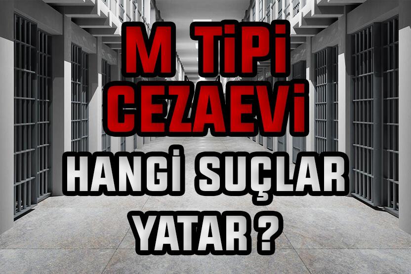 M Tipi Cezaevinde Hangi Suçlular Yatar?